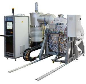Thin film coating machines for rolled films