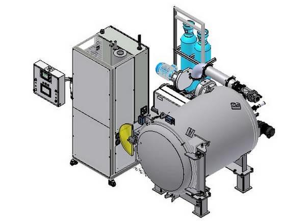 Modular leak test machine Modul'He helium based