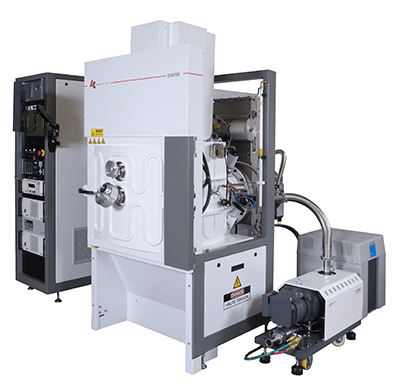Vacuum evaporation thin film coating for the watch making industry
