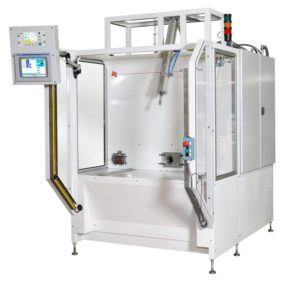 Leak test machine manufacturer for military applications