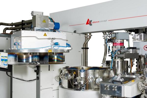 dépôt PVD pour l'horlogerie, machine dépôt de couches minces horlogerie