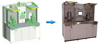 Machine de test d'étanchéité pour l'industrie spatiale et aéronautique