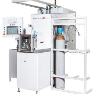 Machine de test d'étanchéité par gaz hélium Modul'He occassion