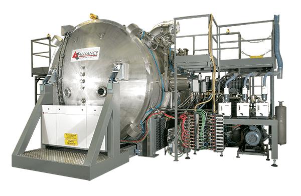 Fabricant de machine de métallisation sous vide pour l'industrie