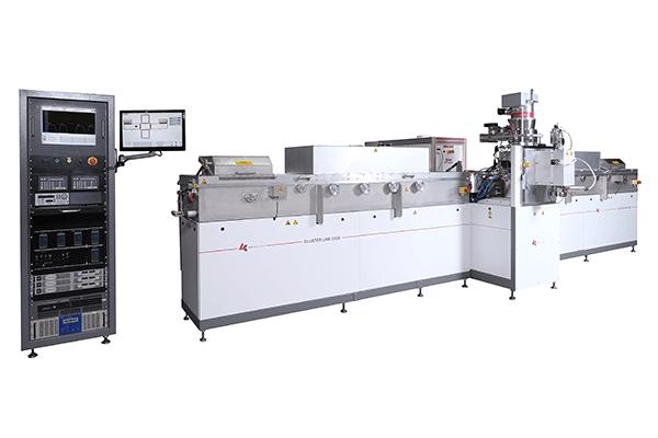 Machine de dépôt de couches minces pour l'industrie photovoltaïque et le secteur de l'énergie