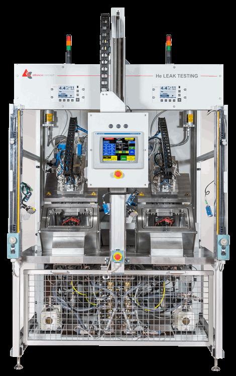 Fabricant de machine de test d'étanchéité sur mesure pour l'industrie