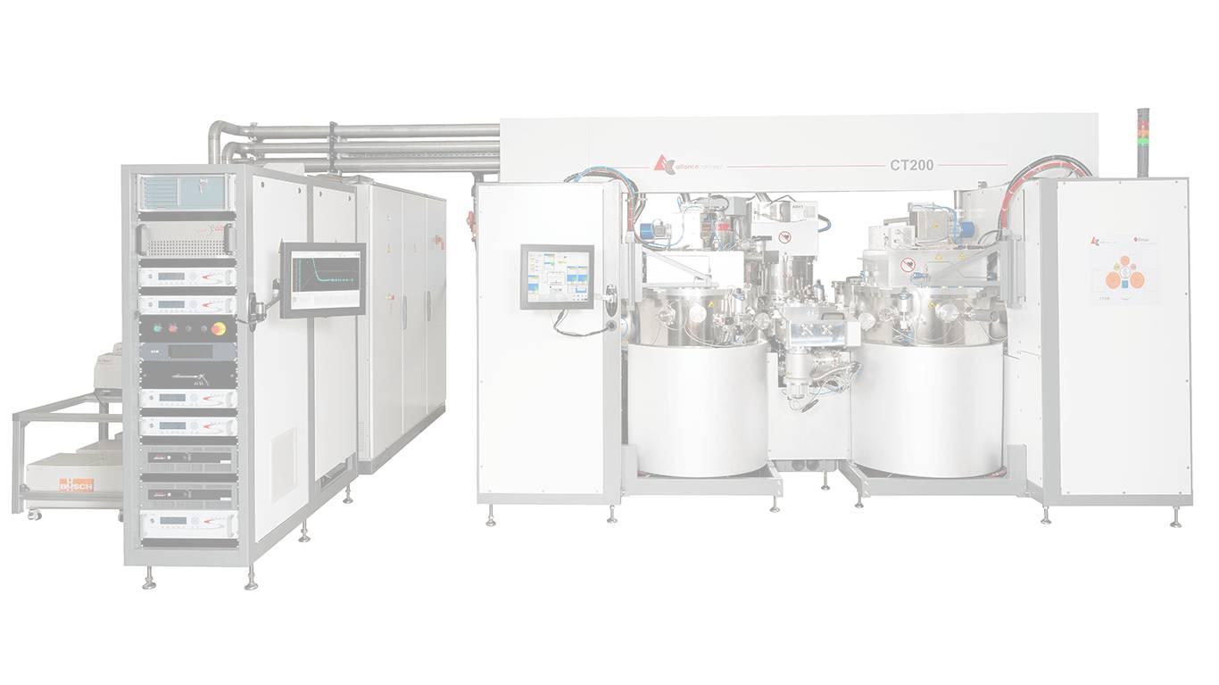 Fabricant de machine PVD, dépôt de couches minces